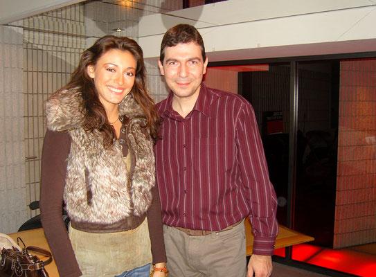 Aux côtés de Miss France 2007