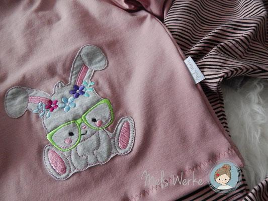 Langarmshirt mit Stickerei