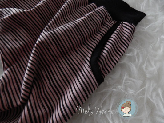 Jerseyhose Stripes mit Taschen
