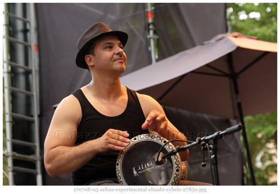 ArbaA Experimental Chaâbi ; Vienne / Juillet 2017 © Jazz-Rhone-Alpes.com