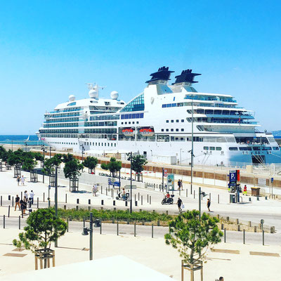 Круиз в марсельском порту.