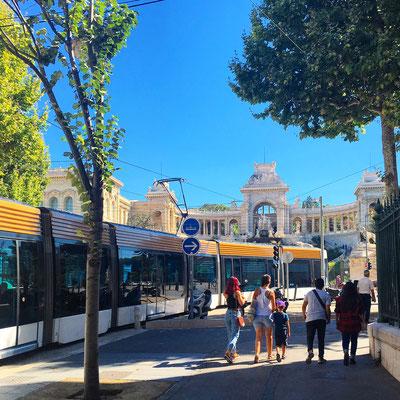 Марсельский трамвай.