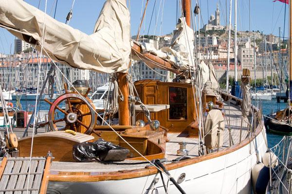 Старая гавань Марселя.