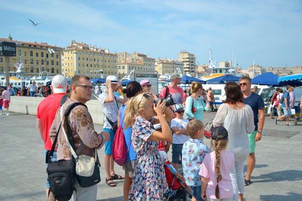 Экскурсия в Марселе. Июль, 2013г.
