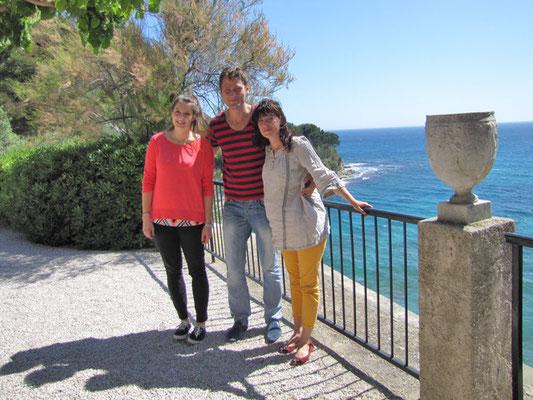 В винодельческом хозяйстве на побережье Средиземного моря. Май, 2014г.