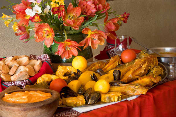 Марсельский буйабес — самое знаменитое блюдо в Марселе.