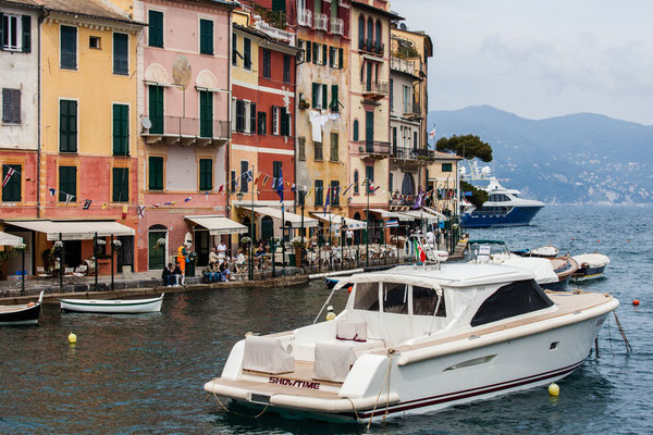 Portofino once more. This time we stopped there with the boat.