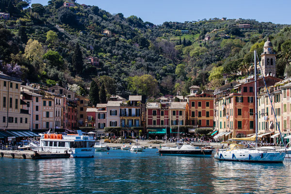 Portofino again. In April you can pay the beer; I bet you won't in July.