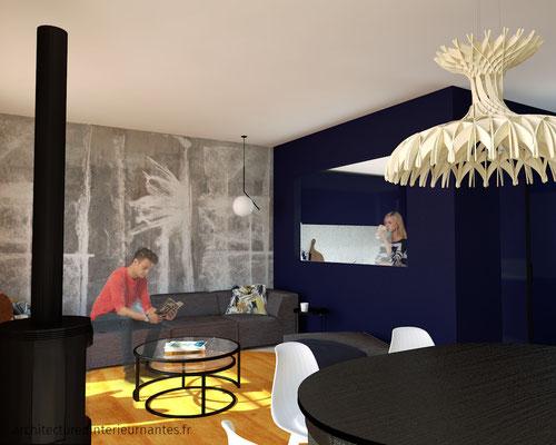 Rénovation salon séjour cuisine