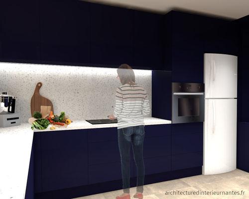 Rénovation séjour cuisine
