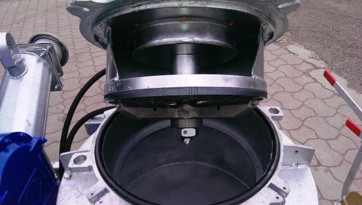 Güllepumpe mit Vogelsang Pumpstation RotaCut