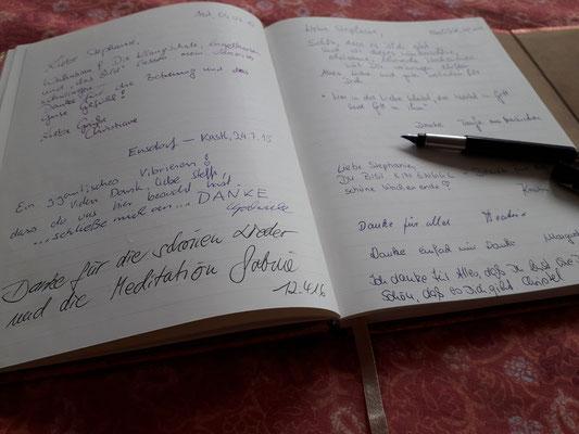 Mein Gästebuch.