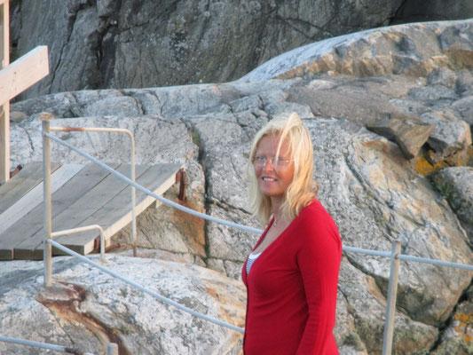 Schöner Sommerabend auf Marstrand