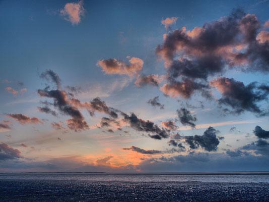 Sonnenuntergang über Baltrum