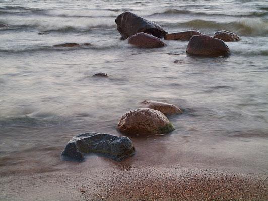 Steine am Strand 10