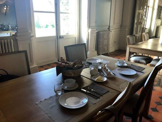 relais du silence sala colazioni
