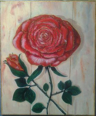 la rose d'A