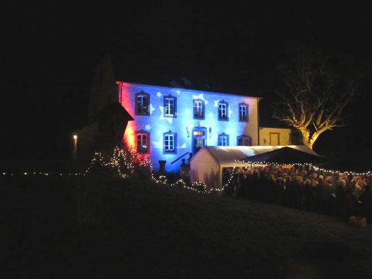 Weihnachtsmarkt 2014 am Pfarrhaus