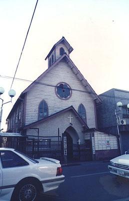基督教団教会 めぐみ幼稚園として親しい