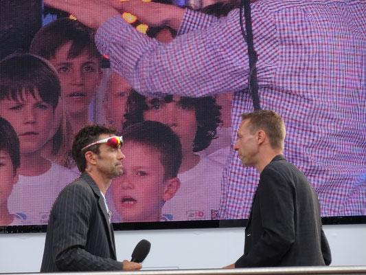 Marcel Wüst und Jens Voigt führten durch das Programm