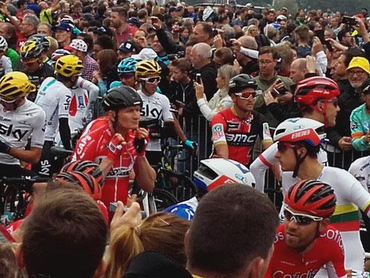 Andrè Greipel in der Menge