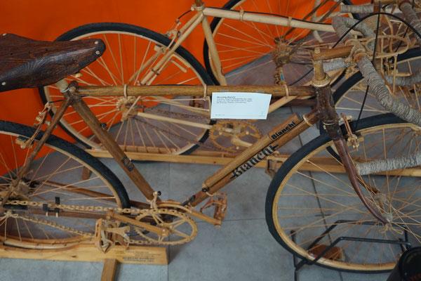 Räder aus Holz ....