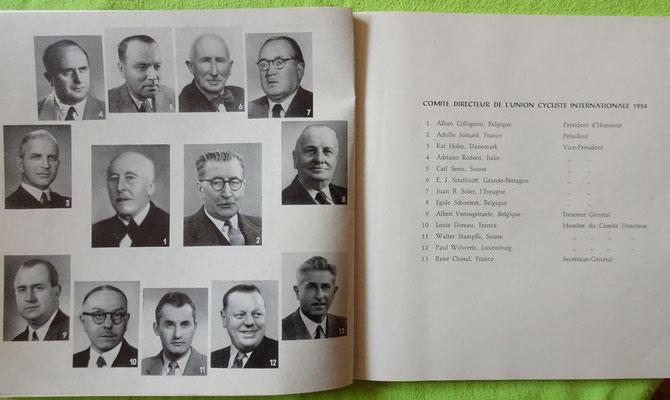 Das damalige UCI-Komitee