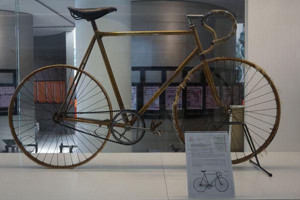 Ein Bahnrad von Fausto Coppi (1942)