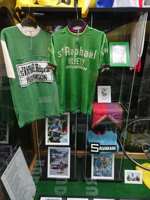 Grüne Trikots der Tour de France