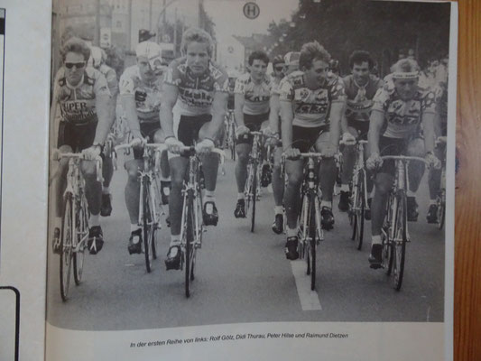 Deutsche Radsportkollegen