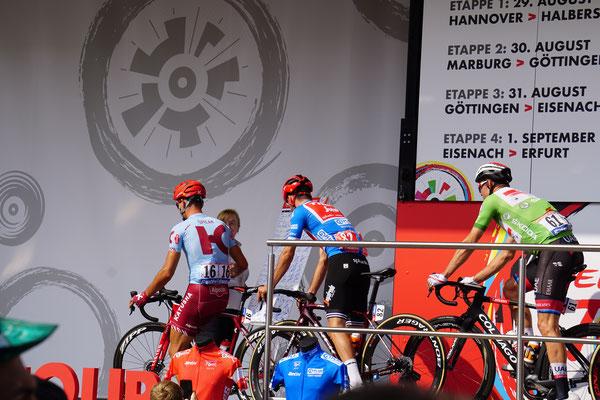 Alexander Kristoff - er gewann dann die zweite Etappe in Grün