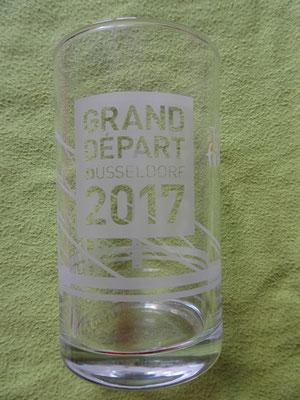 Ein Trinkglas zum Grand Depart 2017 ......