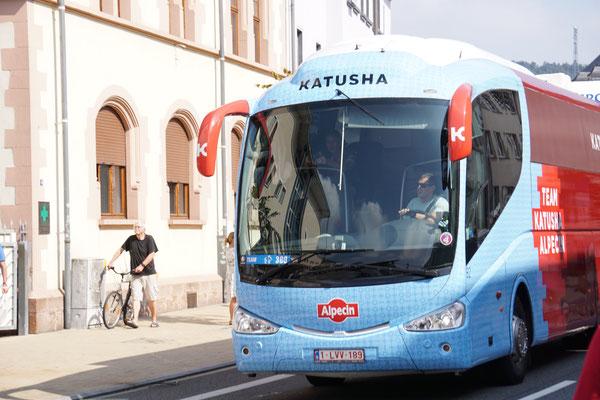Eine der letzten Touren für diesen Bus (zumindest mit dieser Aufschrift)