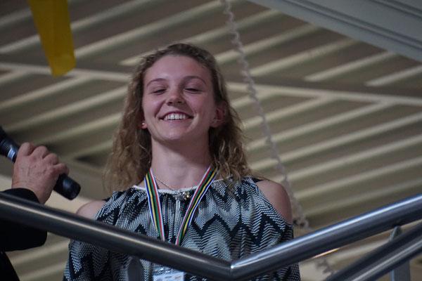 Ein kommender Star am Radsporthimmel - die mehrfache Junioren-Weltmeisterin Alessa Catriona Pröpster