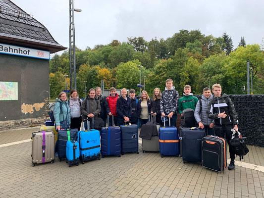 Abreise in Bad Lobenstein