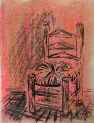"""DemocKorsy"" III (pastel on paper). Study."