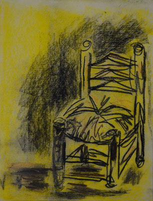 """DemocKorsy"" II (pastel on paper). Study."