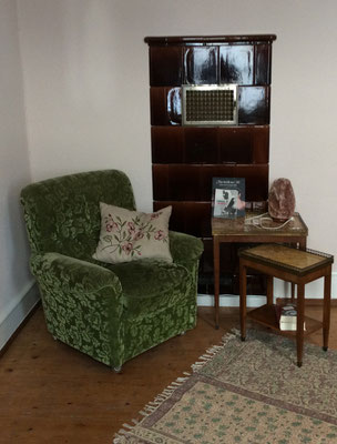 Sitzecke im Einzel-Schlafzimmer