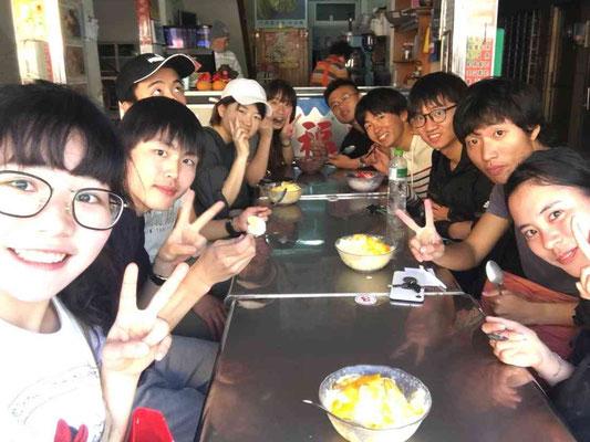 台湾かき氷を食べに