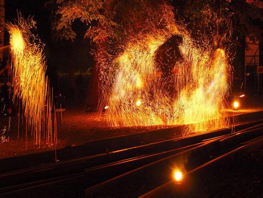Renate Beutel Feuershow 2018