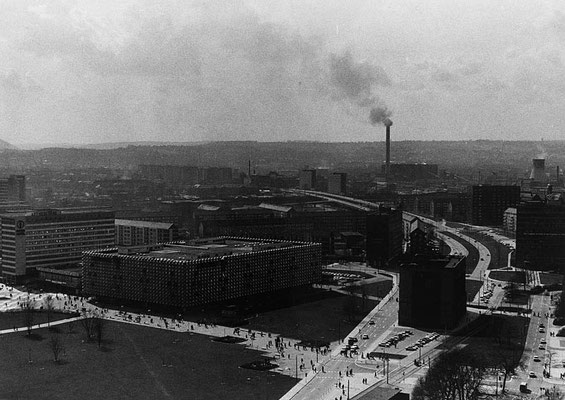 Renate Beutel 1980 Gesunde Luft über der Stadt