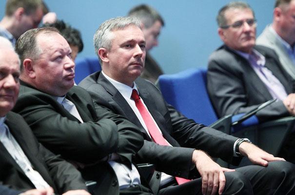 Vertreter des öffentliches Lebens fehlten nicht in Zagreb.