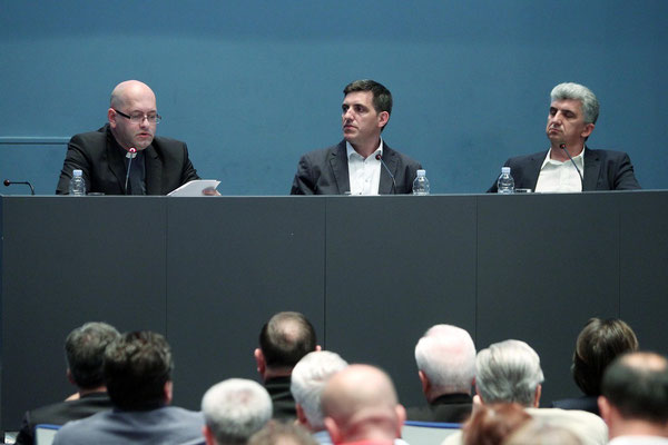 Hochrangiges Forum zur Buchpräsentation in Zagreb.