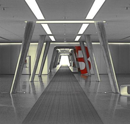 way to odssey / Eingangsbereich Berlinerbogen