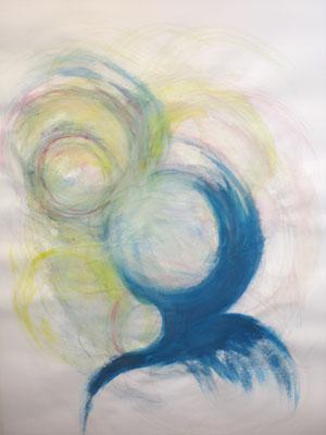 Sehnsucht (Acryl 59,3 x 83,7)