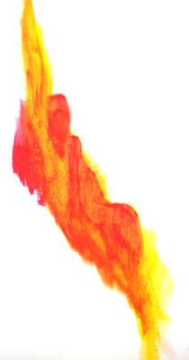 ohne Titel (Ölpastellkreide 29,7 x 42)