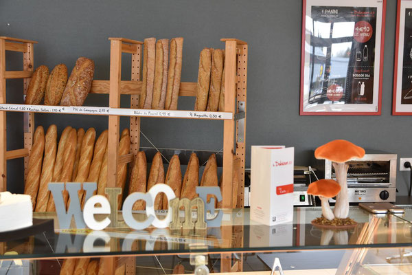Toute une gamme de pains cuits sur place à Vals près le Puy