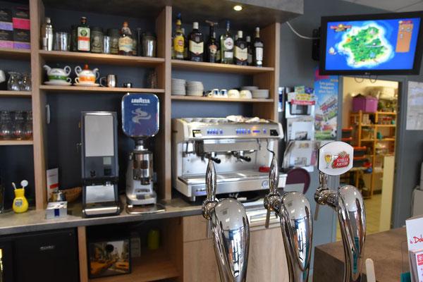 Café LAVAZZA, expresso, café décaféiné, café allongé, café crème, cappuccino