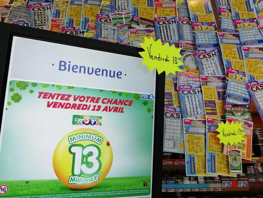 On gagne souvent, et pas seulement le vendredi 13 près du Puy en Velay