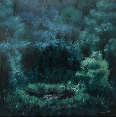 樹幹の夢 S3号 油彩
